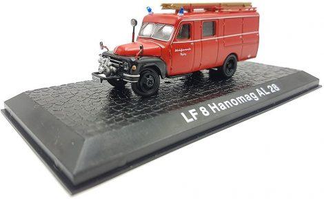 Die Cast - LF8 Hanomag AL28 tűzoltó modell