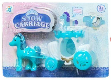 Hercegnő lovaskocsija, kék