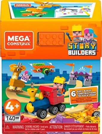 Mega Construx Story Builders - építőjáték szett (140 darabos)