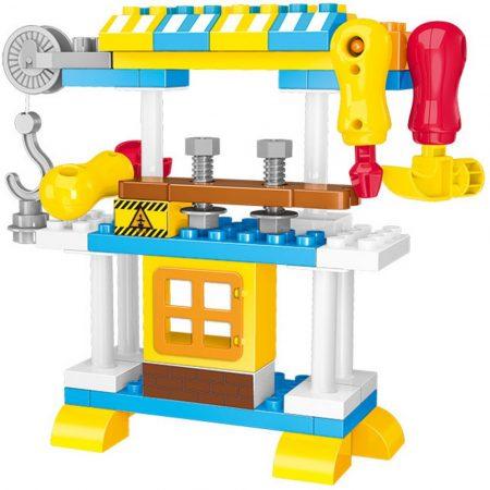 Luna - kis barkács asztal építjáték készlet