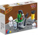 Snoopy műhely építőjáték készlet