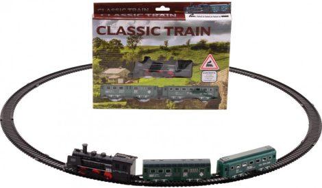 Classic Train gőzmozdony szett