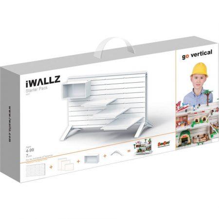 iWallz építőjáték tartó állvány kezdő készlet 7 db-os