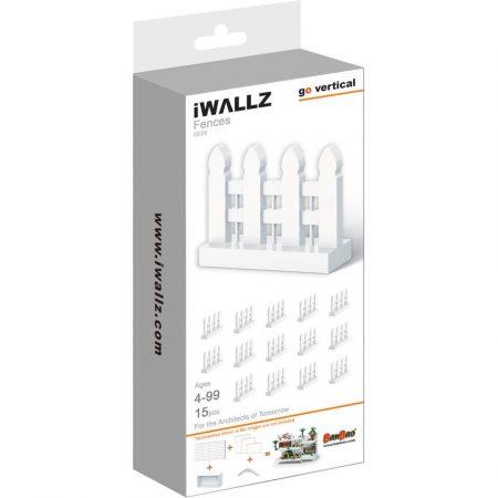 iWallz építőjáték tartó készlet, kiegészítő kerítés modul, 15 db