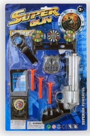 Rendőr játékszett - 8 részes