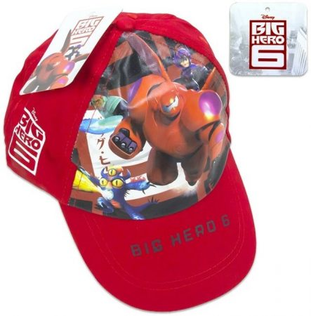 Hős6os - Big Hero 6 - állítható baseball sapka gyerekeknek