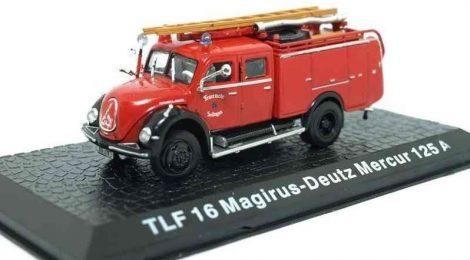 Die Cast - TLF 16 Magirus-Deutz Mercur 125A tűzoltó modell