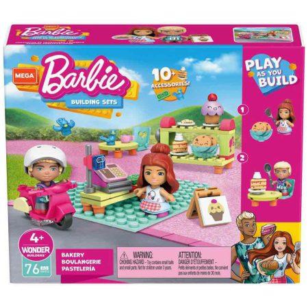 Mega Construx - Barbie cukrászda építőjáték készlet