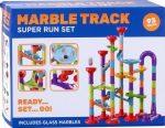 Marble Track - 93 darabos műanyag golyópálya