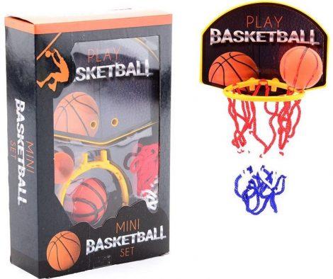 Mini kosárlabda palánk labdával