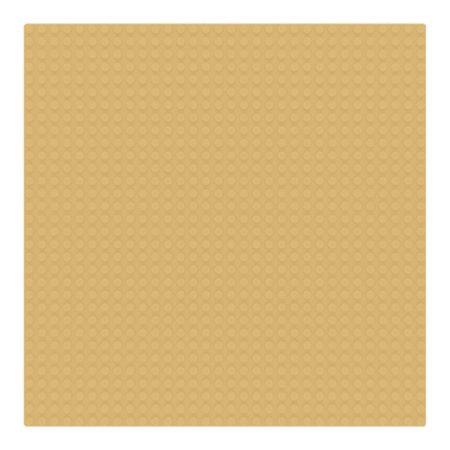 Sluban 25×25 cm-es alaplap építőjátékokhoz - barna