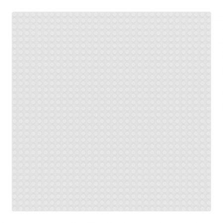 Sluban 25×25 cm-es alaplap építőjátékokhoz - fehér