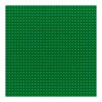 Sluban 25×25 cm-es alaplap építőjátékokhoz - zöld
