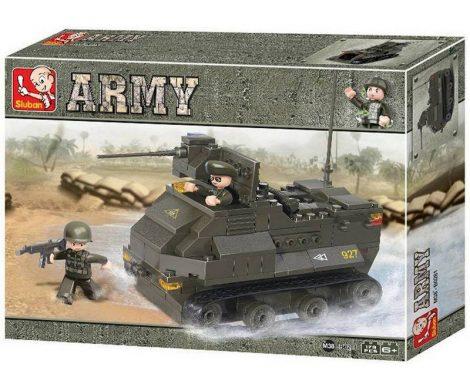 Sluban Army – AAV7A1 páncélozott harci jármű építőjáték készlet