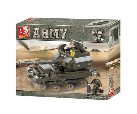 Sluban Army – T90 harckocsi építőjáték készlet