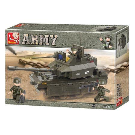 Sluban Army - Harckocsi építőjáték készlet
