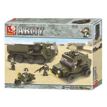 Sluban Army - Szárazföldi műszaki alakulat építőjáték készlet