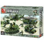 Sluban Army - Szárazföldi haderő építőjáték készlet