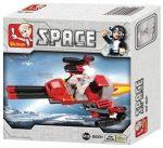 Sluban Space - Bombázó űrhajó építőjáték készlet