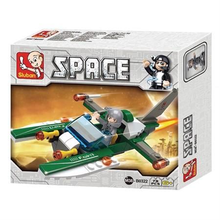 Sluban Space - Űrhajó építőjáték készlet