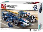 Sluban Formula 1 – Kék versenyautó építőjáték készlet