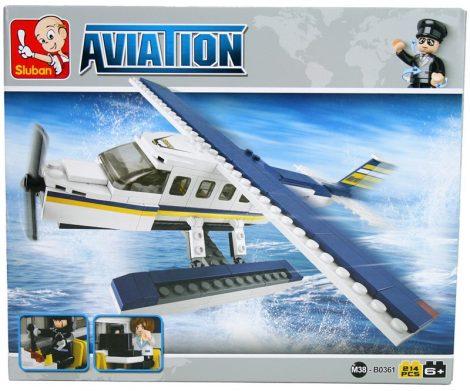 Sluban Aviation – Hidroplán építőjáték készlet