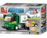 Sluban Aviation – Csomagszállító teherautó építőjáték készlet