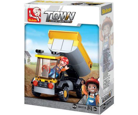 Sluban Town - Kis dömper építőjáték készlet