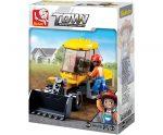 Sluban Town - Kis homlokrakodó építőjáték készlet