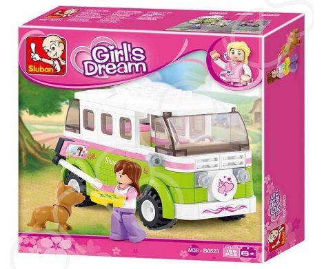 Sluban Girl's Dream – Lakóautó építőjáték készlet
