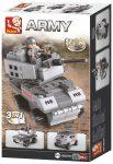 Sluban Army – 3 az 1-ben katonai páncélozott jármű építőjáték készlet