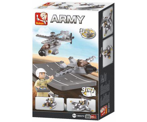 Sluban Army – 3 az 1-ben katonai drónok építőjáték készlet