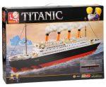 SLUBAN TITANIC nagy kreatív építőjáték készlet