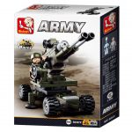 Sluban Army – 8 into 1 tüzérség építőjáték készlet