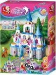 Sluban Girl' Dream - Zafír kastély építőjáték készlet