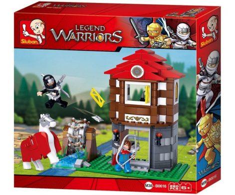 Sluban Legend Warriors - A király háza építőjáték készlet