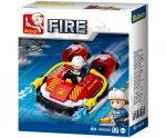 Sluban Fire – Kis tűzoltó légpárnás csónak építőjáték készlet
