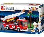 Sluban Fire – Létrás tűzoltóautó építőjáték készlet