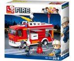 Sluban Fire - Tűzoltó kamion építőjáték készlet