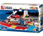 Sluban Fire – Nagy tűzoltó hajó építőjáték készlet