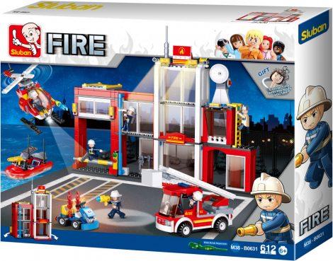 Sluban Fire - Tűzoltóság építőjáték készlet