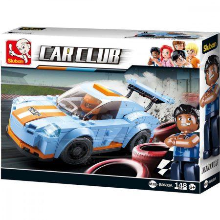 Sluban Carclub - Leopard autós építőjáték készlet