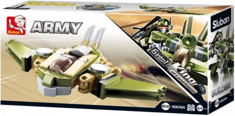 Sluban Builder Army 6 into 1 - Lopakodó repülő