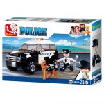 Sluban Police - Kutyás rendőrjárőr építőjáték készlet