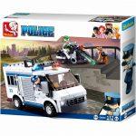 Sluban Police - Rendőrségi rabszállító építőjáték készlet
