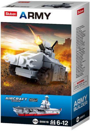 Sluban Army - Kis tank építőjáték készlet