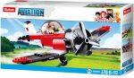 Sluban Aviation – Légcsavaros repülőgép építőjáték készlet
