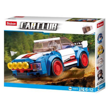 Sluban Carclub - Rallyautó építőjáték készlet