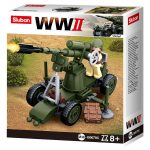 Sluban WWII - 4 in 1 Tüzérség építőjáték készlet