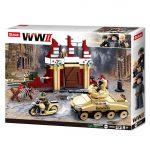 Sluban Army WWII - Sztálingrádi csata 479 darabos építőjáték készlet